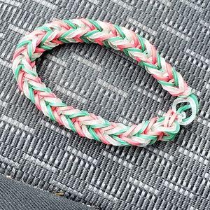 Christmas (Xmas) themed bracelet